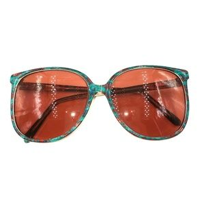 MauiJim Red Green Oversized Oval Sunglasses Frames